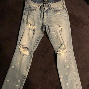 Pacsun Destroyed Jeans